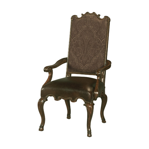 Maitland-Smith - Dark Wellington Cottage Armchair - 4130-730