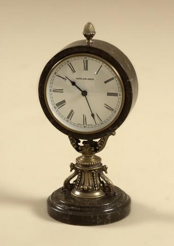 Maitland-Smith - Antique Brass Table Top Clock - 1358-010