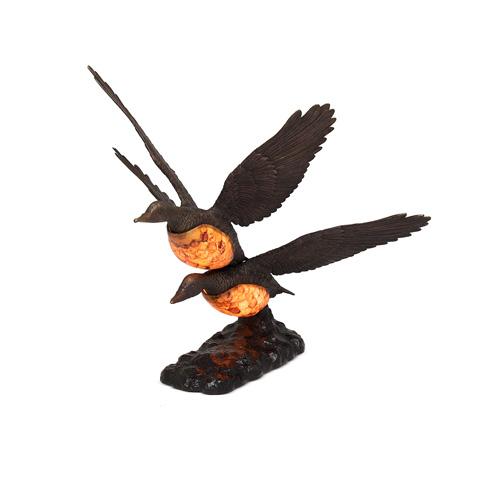 Maitland-Smith - Flying Duck Motif Decorative Lamp - 1754-874