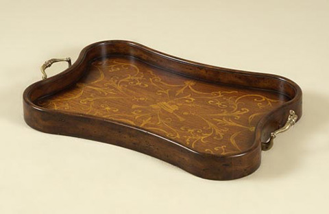 Maitland-Smith - Aged Regency Finished Concave Tray - 2530-135