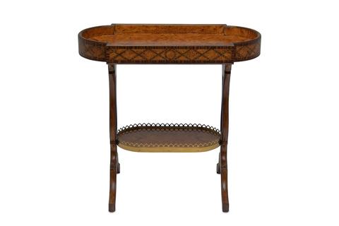 Maitland-Smith - Regency Mahogany Finished Occasional Table - 3630-093