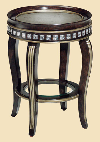 Marge Carson - Gramercy Round Chairside Table - GM30