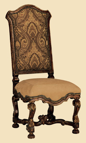 Marge Carson - Upholstered Side Chair - SG45