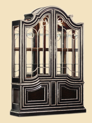 Marge Carson - Arched Display Cabinet - PSM09-1