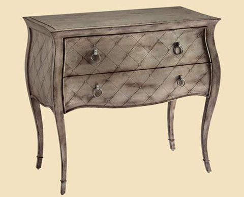 Marge Carson - Two Drawer Nightstand - DSF12-2