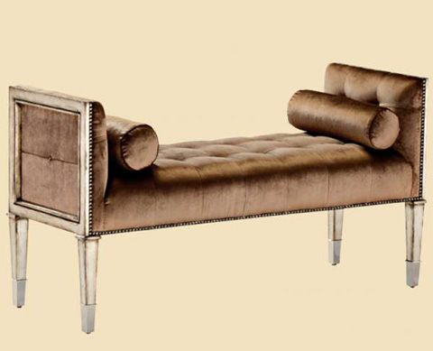 Marge Carson - Tufted Bench - BOS48