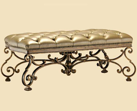 Marge Carson - Tufted Bed Bench - RVL48