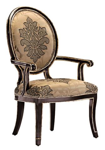 Marge Carson - Oval Back Arm Chair - SBA46-5