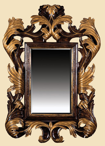 Marge Carson - Carved Wall Mirror - UM17