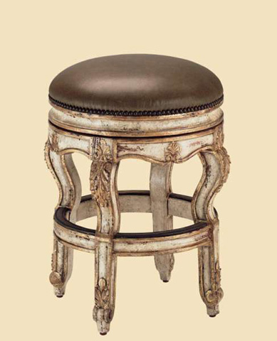 Marge Carson - Upholstered Counter Stool - VV47A-26
