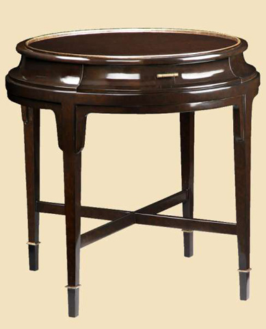 Marge Carson - Tao Round End Table - TAO04