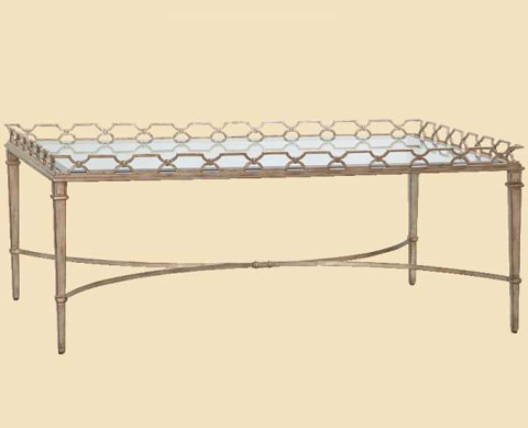 Marge Carson - Cambria Cocktail Table - CMB01L