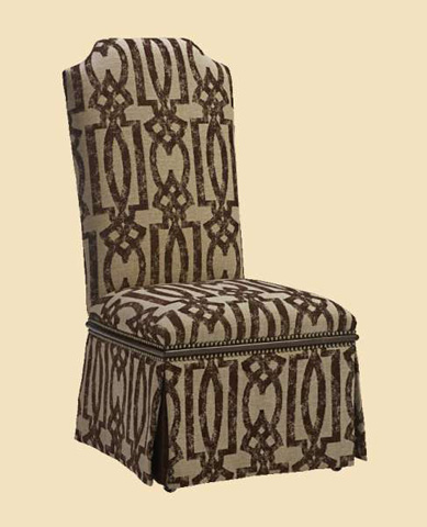 Marge Carson - Cross Channel Side Chair - CRC45