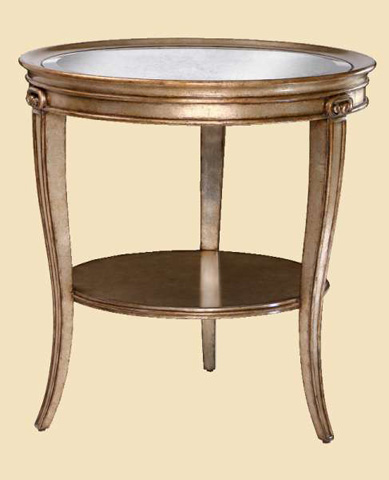 Marge Carson - Ionia Chairside Table - ION30