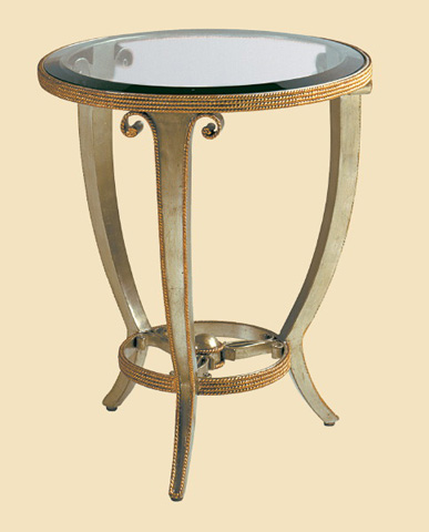 Marge Carson - Oggetti Chairside Table - OT30