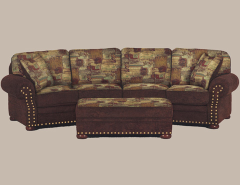 Marshfield Furniture - Cocktail Storage Ottoman - 2329-39