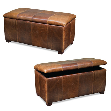 McNeilly Furniture - Storage Ottoman - 0833-OS