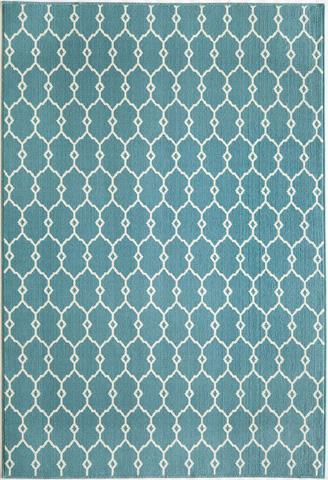 Momeni - Baja Rug in Blue - BAJ-02 BLUE