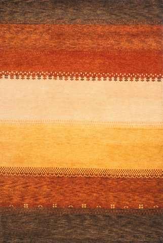 Momeni - Desert Gabbeh Rug in Multi - DG-04 MULTI