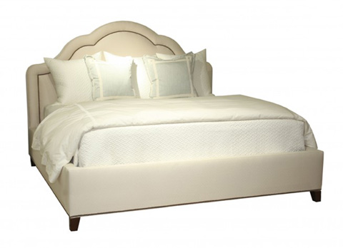 Mr. and Mrs. Howard by Sherrill Furniture - Tingley King Bed - MH12524