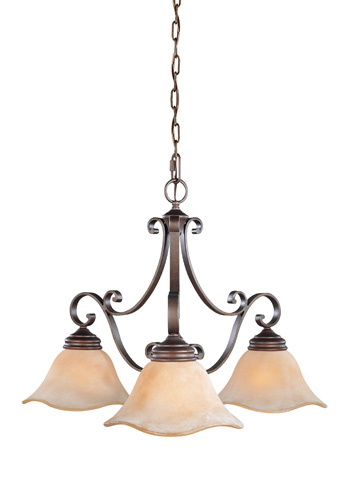 Feiss - Three - Light Kitchen Chandelier - F1837/3CB
