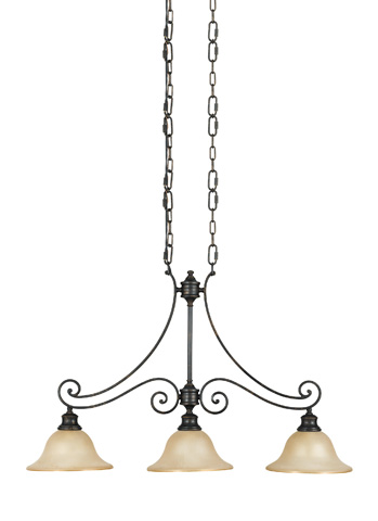 Feiss - Three - Light Island Chandelier - F2185/3LBR