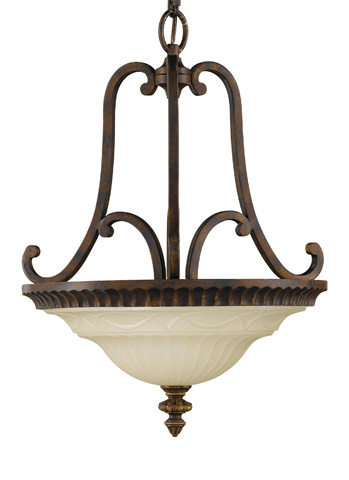 Feiss - Two - Light Uplight Chandelier - F2223/2WAL