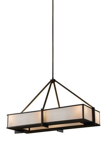Feiss - Six - Light Island Chandelier - F2400/6ORB