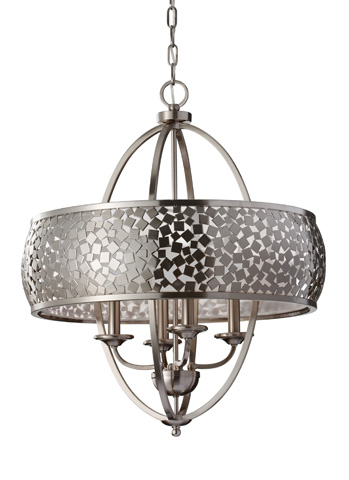 Feiss - Four-Light Chandelier - F2736/4BS
