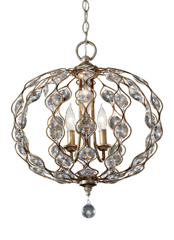 Feiss - Three-Light Chandelier - F2741/3BUS