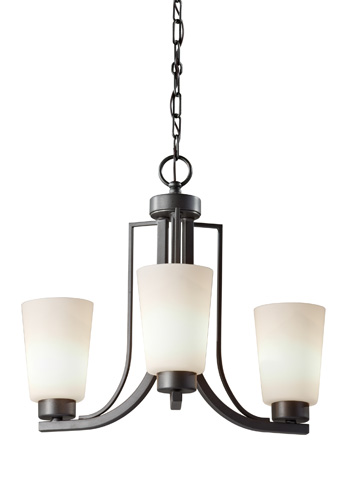 Feiss - Three - Light Chandelier - F2763/3CI