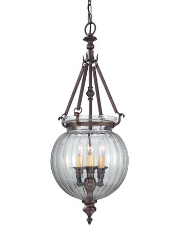 Feiss - Three - Light Hall Chandelier - F2800/3ORB
