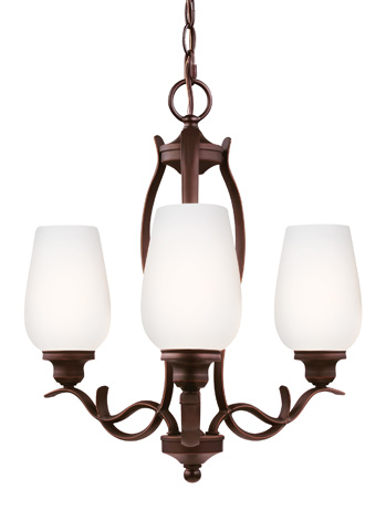 Feiss - Three - Light Chandelier - F3001/3ORBH