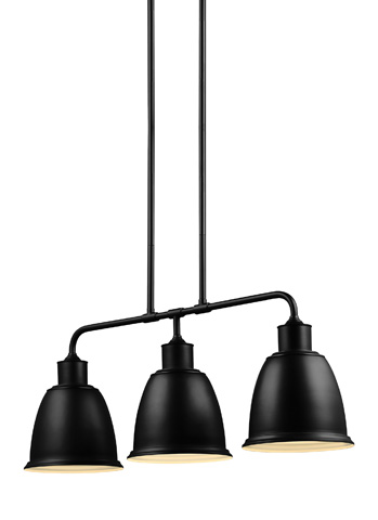Feiss - Three - Light Island Chandelier - F3021/3ORB