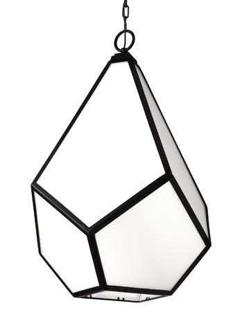 Feiss - Four - Light Pendant - F3034/4BK