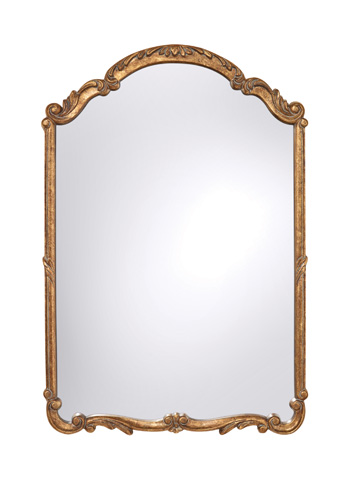 Feiss - Antique Gold Mirror - MR1185AGD