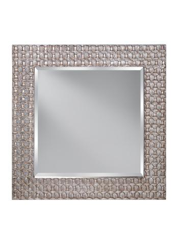 Feiss - Antique Silver Leaf Mirror - MR1199ASLF