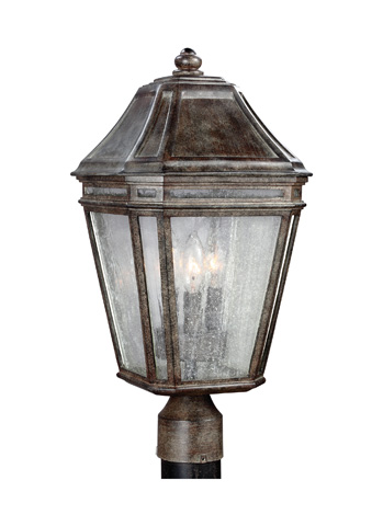 Feiss - Three - Light Outdoor Post - OL11308WCT