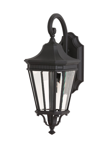 Feiss - One - Light LED Wall Lantern - OL5401BK-LED