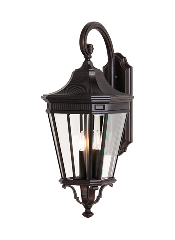 Feiss - Three - Light Wall Lantern - OL5404GBZ