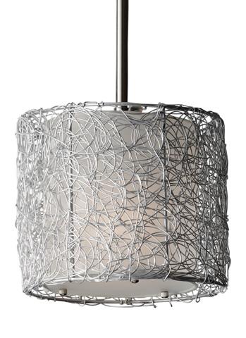 Feiss - One-Light Mini Pendant - P1250BS