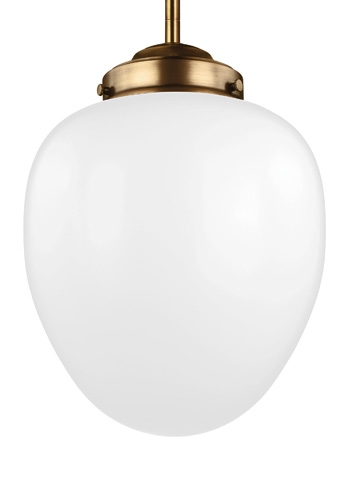 Feiss - One - Light Pendant - P1398AGB