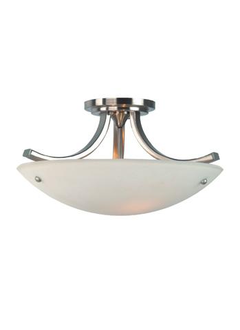 Feiss - Three - Light Indoor Semi-Flush Mount - SF189BS/PN