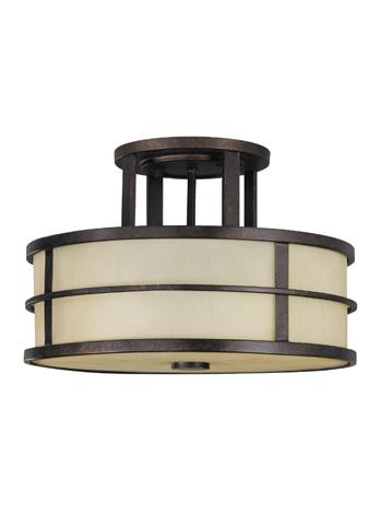 Feiss - Three - Light Indoor Semi-Flush Mount - SF217GBZ