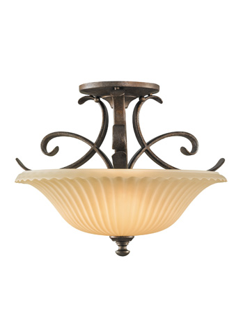 Feiss - Two - Light Indoor Semi-Flush Mount - SF246BRB