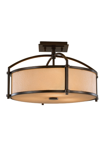 Feiss - Three - Light Indoor Semi-Flush Mount - SF270HTBZ