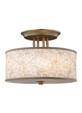 Feiss - Three - Light Semi-Flush Mount - SF323BUS