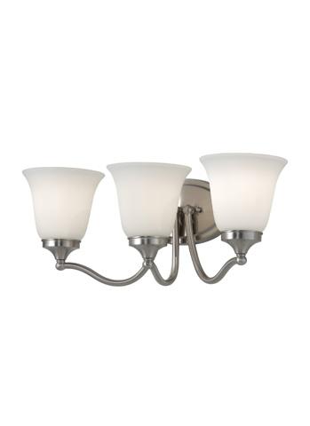 Feiss - Three - Light Vanity Fixture - VS18503-BS