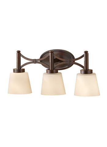 Feiss - Three - Light Vanity Fixture - VS18703-HTBZ