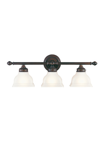 Feiss - Three - Light Vanity Fixture - VS7703-ORB